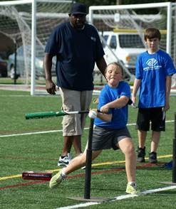 Play ball with the mayor at this community event